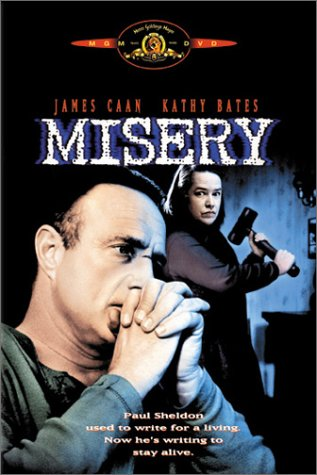 DVD : Misery (Remastered, Widescreen, Faceplate)