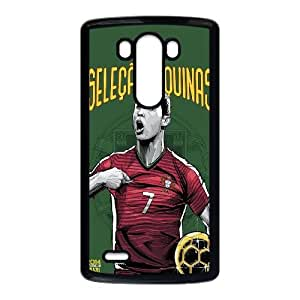 LG G3 Cell Phone Case Black WorldCup Portugal Z7L7TR