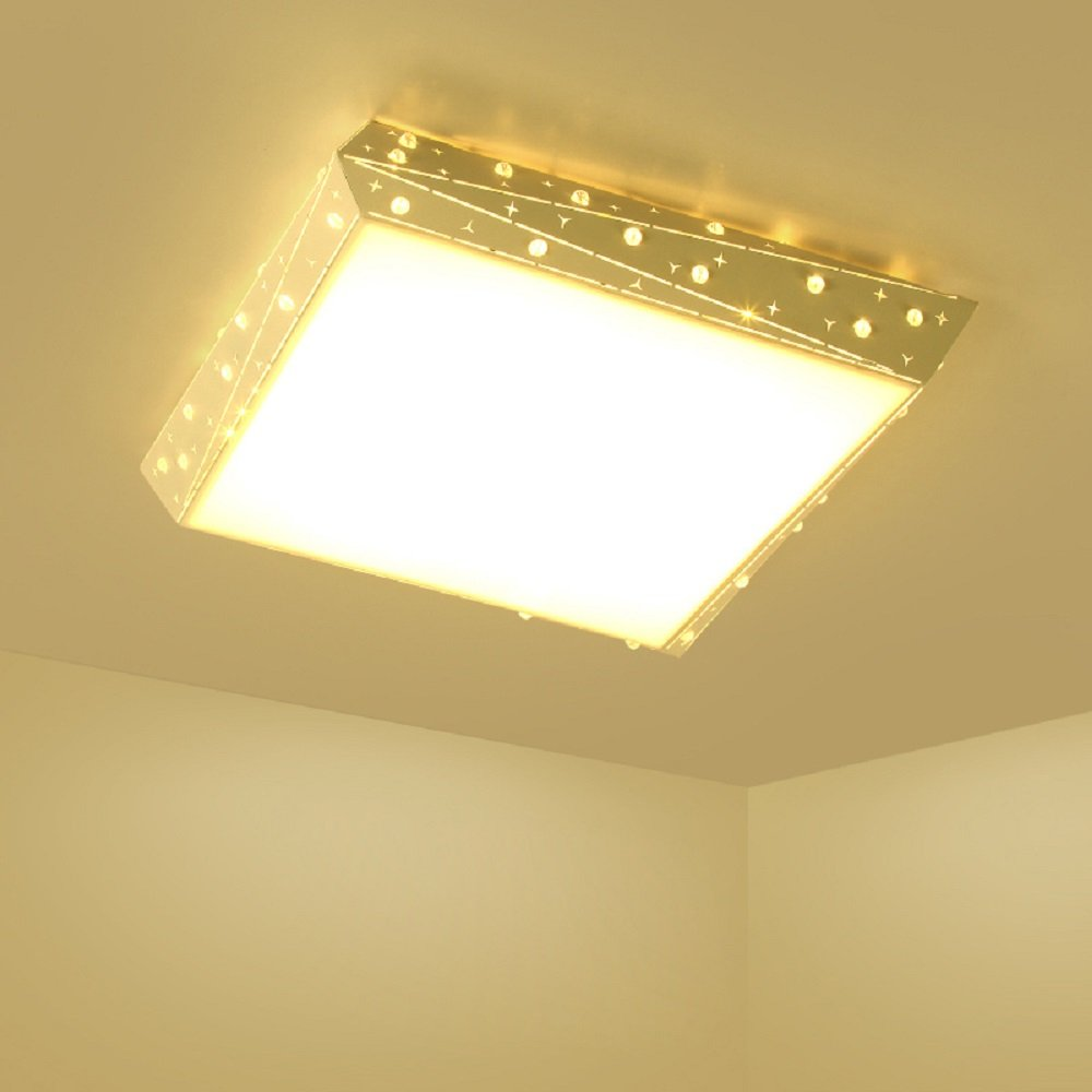 Rectangular Flush Mount Ceiling Light