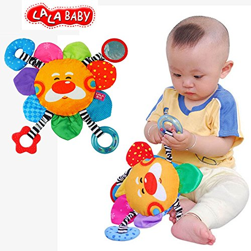 LALABABY Sun Flower Early Education Toy for Over