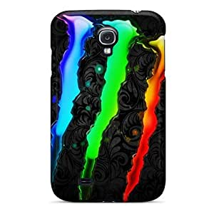 Samsung Galaxy S4 KpC1857nWtQ Custom Lifelike Monster Skin Scratch Resistant Hard Phone Cover -JohnPrimeauMaurice
