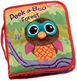 Lamaze Cloth Book, Peek-A-Boo Forest image
