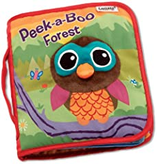 Peek-a-Boo Forest is an interactive soft book that allows your little explorer to learn about different animals that live in the forest. Each durable page has soft peek-a-boo flaps that are easy for little fingers to open and close, promoting...