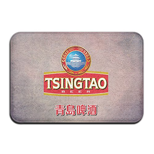 personalized-indoor-or-outdoor-doormat-chinese-tsingtao-beer-logo-kitchen-doormat-bath-mat-non-slip-