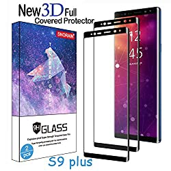"""S9 Plus screen protector only will not fit S9. [MUST READ]Activate the Touch Sensitivity Setting on your phone to increase the touch sensitivity of screen for use with screen protectors 1:Open """"Settings"""" 2:Navigate to """"Advanced Features"""" ..."""