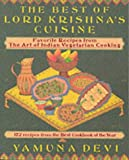 The Best of Lord Krishna's Cuisine, Yamuna Devi, 0896470296