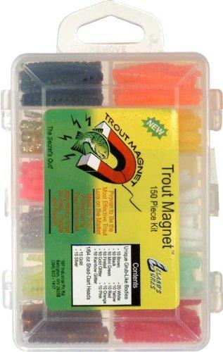 Trout Magnet Lures (Trout Magnet Kit (The Original)-152 Piece)