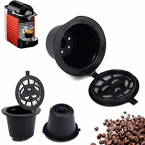 Home Kitchen Refillable Coffee Capsule Cup Reusable Refilling