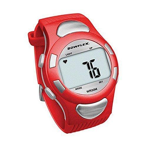 Bowflex Strapless Water Resistant EZ PRO Heart Rate Monitor Watch - Red Bowflex Heart