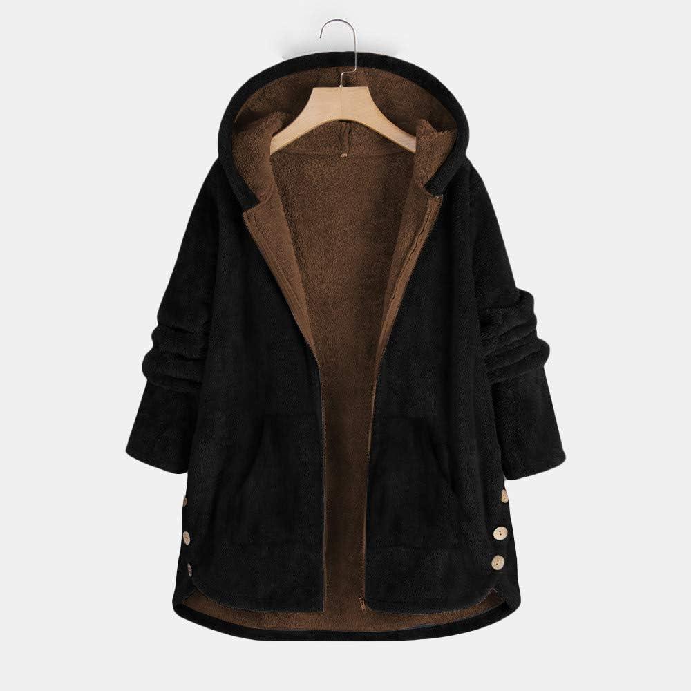 Vintage Fall Winter Plus Velvet Thicken Lightweight Warm Hooded Plush Windbreaker Jacket Lazapa Cardigan Coat for Women