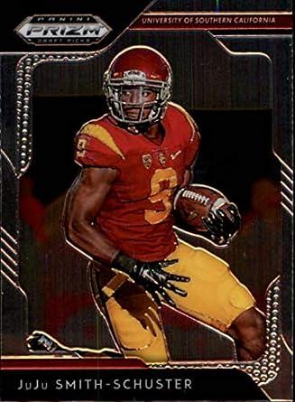 1b434088b 2019 Panini Prizm Draft Picks  55 JuJu Smith-Schuster USC Trojans Football  Trading Card