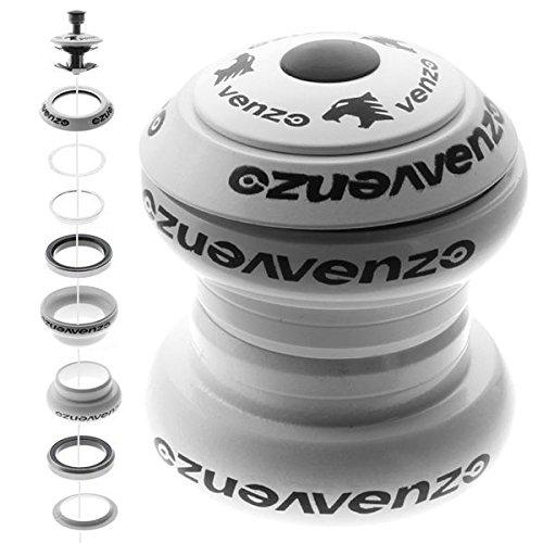 Venzo 1-1/8'' Threadless Mountain Bike Headset Sealed Black by Venzo (Image #3)