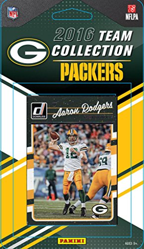 Green Bay Packers 2016 Donruss NFL Football Factory Sealed Team Set with  Brett Favre 3dc84435a