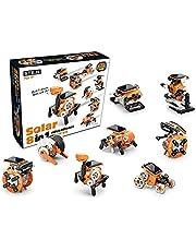 8 in 1 Solar Educational Robot Kit - CIC Kits   DIY SolarBots Toys   Educational STEM Solar Robot Toys for Kids & Teens   Bilingual Manual English & Français