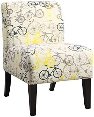 ACME Ollano Accent Chair – 59438 – Pattern Fabric