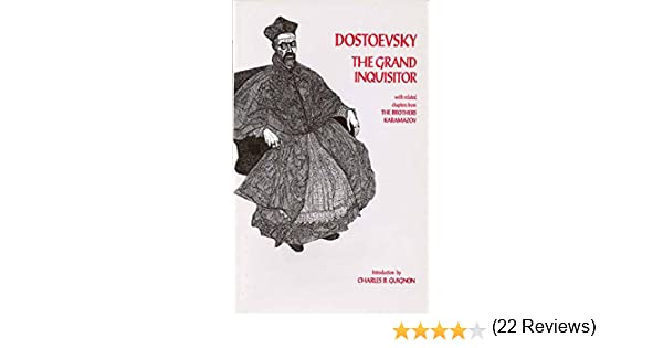 Madness and Civilization  Cosmos and History  An Anthology   The     The Grand Inquisitor by Fyodor Dostoyevsky     Reviews  Discussion   Bookclubs  Lists