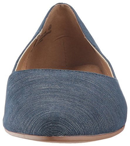 Fabric Girl Hey Women's Blue Ballet Aerosoles Flat TqUfnW