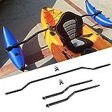 Lixada 1 Pair Kayak Outrigger Sidekick Arms Canoe Boat Stablizer System Rack Mount