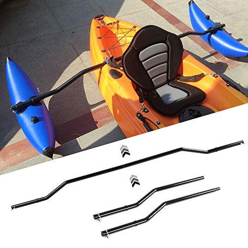 Lixada 1 Pair Kayak Outrigger Sidekick Arms Canoe Boat Stablizer System Rack ()