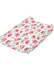 """ARIGHTEX Changing Pad Cover, Jersey Knit Changing Pad Liner for Standard 16"""" X 32"""" Mats, Ultra Soft Diaper Change Table Sheets for Baby Boys Girls"""