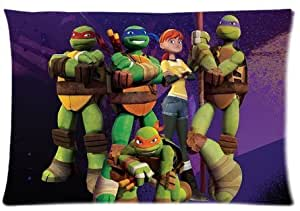 """Accurate Store American computer animated television series Teenage Mutant Ninja Turtles Pillow case Covers Standard Size 20""""x30"""