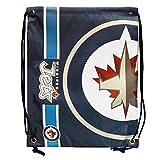 Winnipeg Jets Big Logo Drawstring Bag