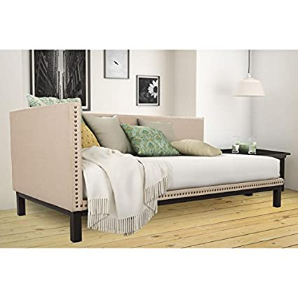 Mid Century Upholstered Modern Daybed