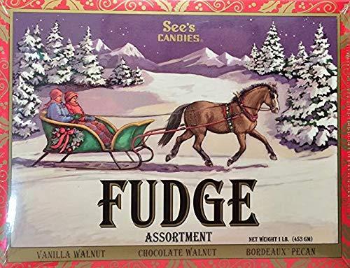 See's Candies Assorted Fudge (1lb Box)