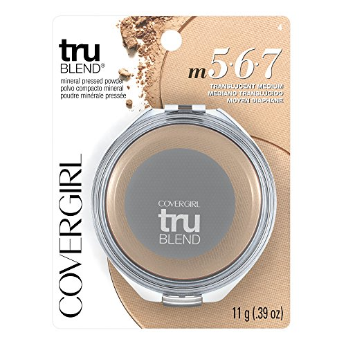 CoverGirl truBlend Pressed Blendable Powder, Translucent Medium, 0.39 Ounce