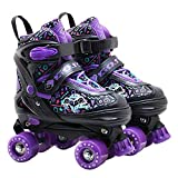 High qulity Children Roller Skates Shoes Comfortable and Soft Shoes with Size L Breathable and Wearable Skate Shoes
