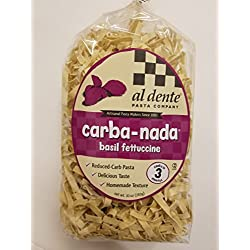 Carba-Nada Low Carb Basil Fettuccine Pasta 10 oz. bag