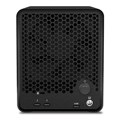 Drobo 5D3 5-Drive Direct Attached Storage (DAS) Array – Dual Thunderbolt 3 and USB 3.0 Type-C ports (DRDR6A21) by Drobo (Image #1)