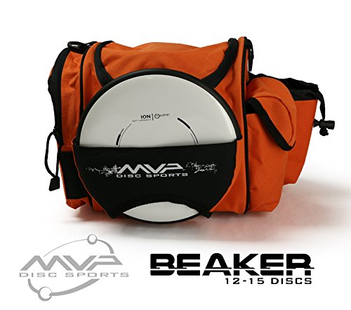 MVP Disc Sports MVP Beaker Competition Disc Golf Bag - Orange by MVP Disc Sports