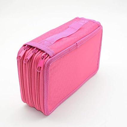 Estuche para lápices en el 4 ° piso Estuche para lápices estuche Kawaii colorido Estuche para lápices styla scolaire Estuche para lápices Papelería, 3 ° piso Rojo rosa: Amazon.es: Oficina y papelería