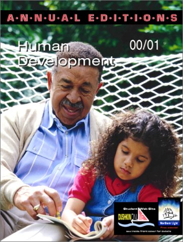 Annual Editions: Human Development 00/01 (Annual Editions)