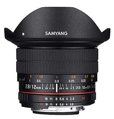 Samyang 12mm F2.8 Ultra Wide Fisheye Lens by Amzn9