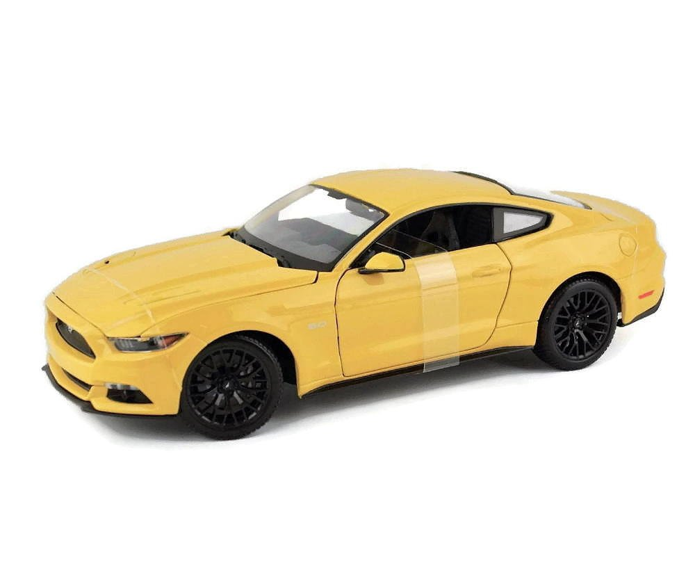 New 1 18 W B SPECIAL EDITION YELLOW 2015 FORD MUSTANG GT Diecast Model Car By Maisto by Maisto