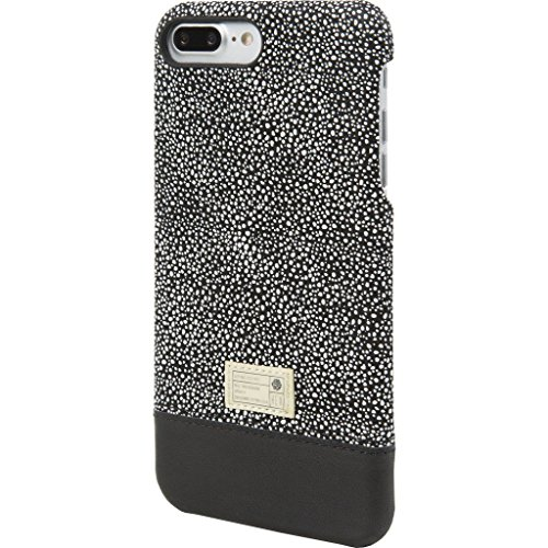 Hex  Cell Phone Case for iPhone 7 Plus - Black/White Stingray (Sw Accents Apple)