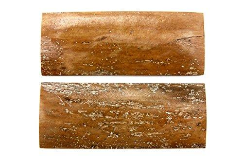 ナイフ用ハンドル材 323176 6x30x80 (2枚1組) B01F3J3298