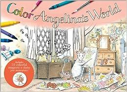Descarga gratuita Color Angelina's World: With 10 Magnets Epub