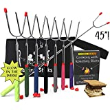 """KBA Marshmallow Roasting Sticks 45"""" Long - 
