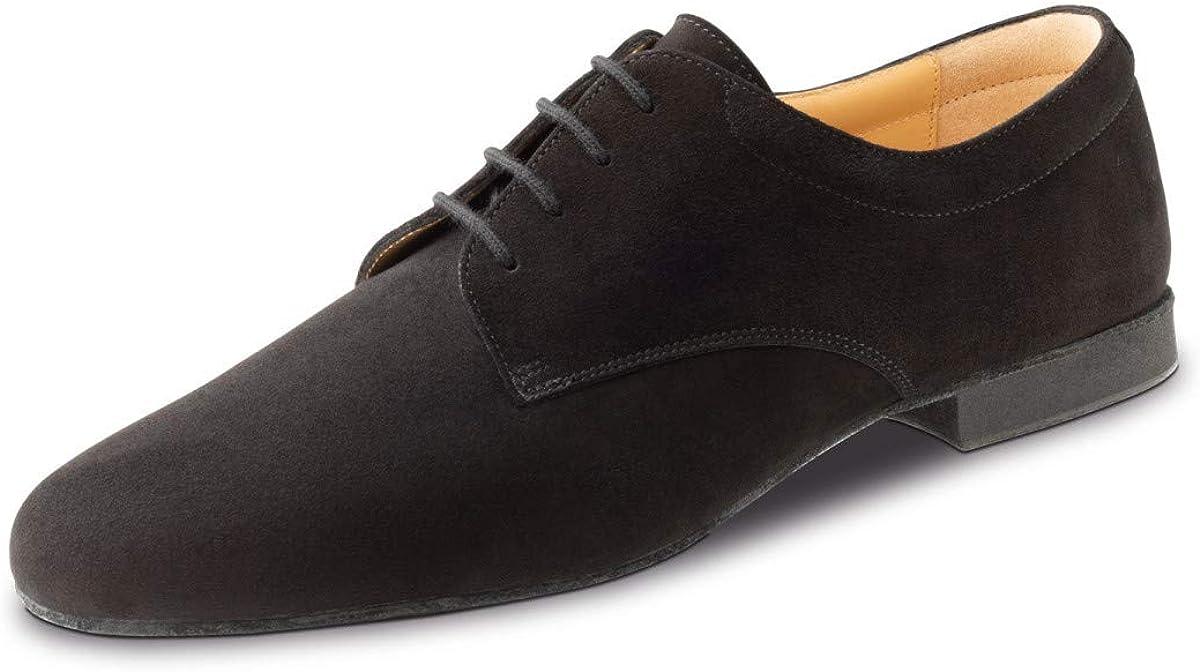 1,5 cm Micro-Heel Werner Kern Hommes Chaussures de Danse 28058 Su/éde Noir