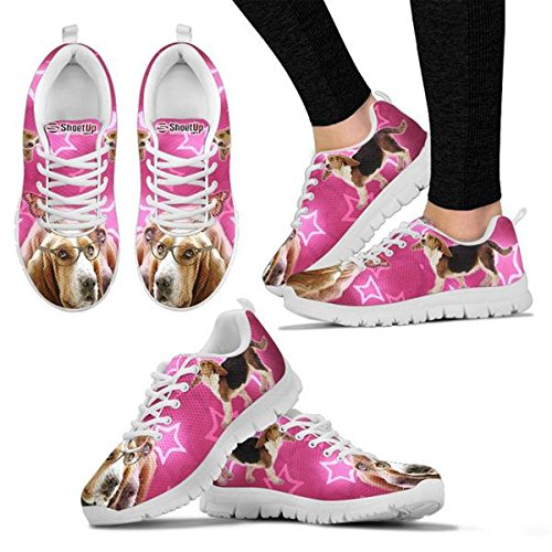 Breed Sneakers Shoes Lightweight Pet Sneakers Print Hound Basset Choose Your Dog Women's Running Shoetup gxYEwPRqP