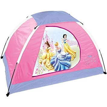 Disney Youth Princess 2 Pole Dome Tent with Zip u0026quot;Du0026quot; Doors 5  sc 1 st  Amazon.com & Amazon.com: Disney Youth Princess 2 Pole Dome Tent with Zip