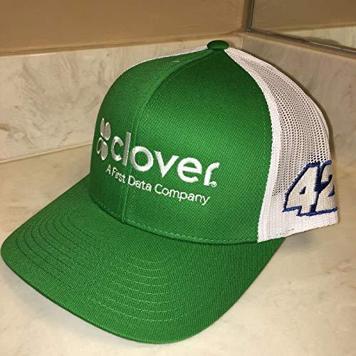 2018 Kyle Larson CLOVER GREEN FIRST DATA 5.11 SnapBack Crew Hat Mesh Nascar Ganassi SnapBack Classics YUPOONG Cap Racing not Race Used