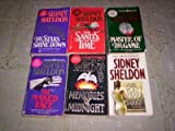 Sidney Sheldon - (Set of 6) - Not a Boxed Set (The Sands of Time - The Stars Shine Down - The Nakes Face - Memories of Midnight - Are You Afraid of the Dark ? - Master of the Games)