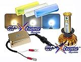 GP Xtreme H3 Compact Size Philips Cree LED Kit 6400LM Lumem Super White / Sky Blue / Yellow Tube High Power LED Cree High Beam, Low Beam, Head Lamp, Fog Lamp, DRL Light GP-H3-CR-HL-VI For Honda Infiniti Lexus Toyota Ford