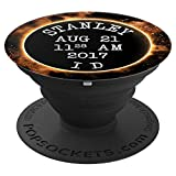 Stanley Idaho Commemorative 2017 Solar Eclipse - PopSockets Grip and Stand for Phones and Tablets
