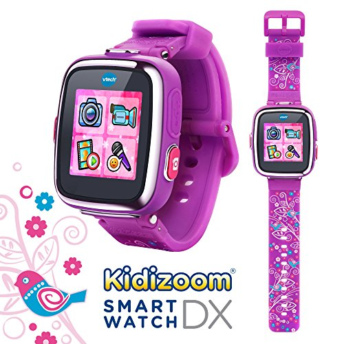 VTech Kidizoom Smartwatch DX - Special Edition - Floral Swirl with Bonus...