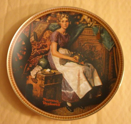 Norman Rockwell - Knowles Collector's Plate with Certificate of Authenticity and Original Box -